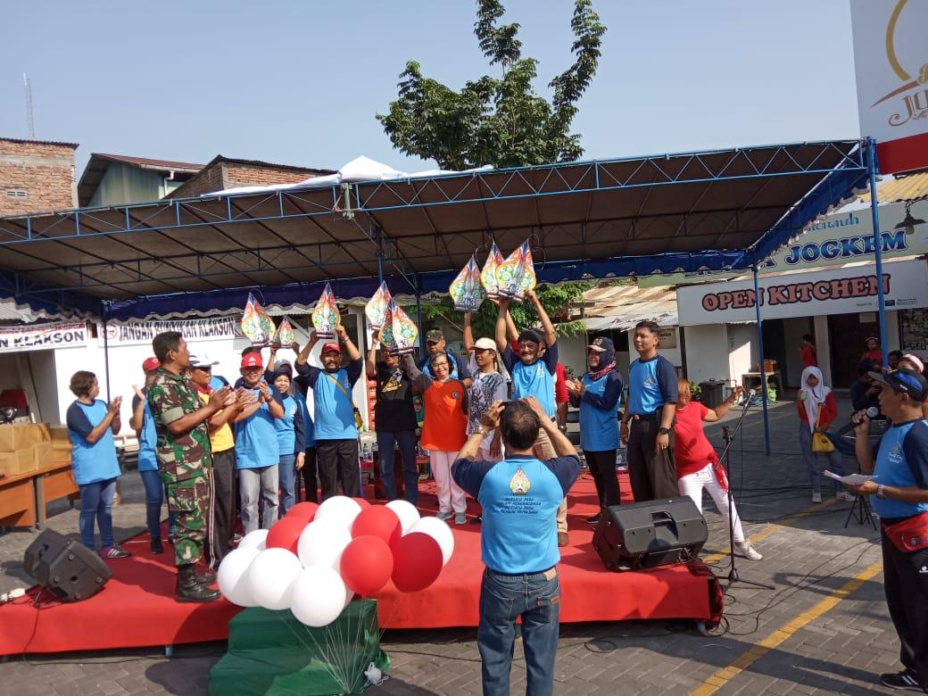 FAMILY DAY DAN SEKALIGUS PELUNCURAN PENAND HUT KOTA YOGYAKARTA Ke - 263