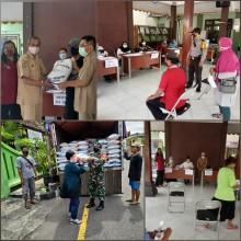 Distribusi Bansos Beras Bagi KPM PKH